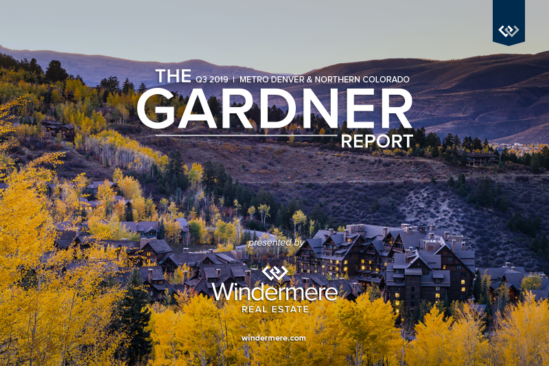 Colorado Real Estate Market Update 2019